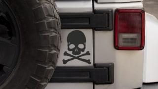 Stickers Tetes de Mort