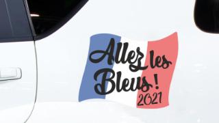 Stickers Equipe de France Foot
