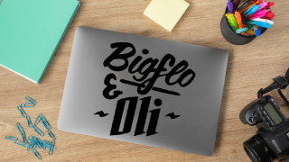 Stickers BigFlo et Oli
