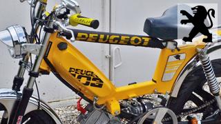 Stickers Moto Peugeot