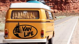 Stickers Van Life Deco