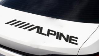 Stickers Auto ALPINE