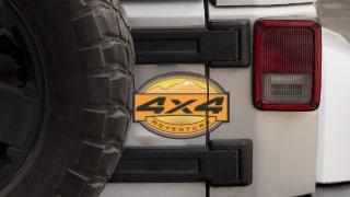 Autocollants Raid 4X4