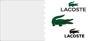 Stickers Lacoste