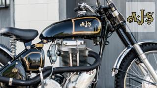 Stickers Moto AJS