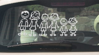 Stickers Personnages Famille