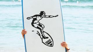 Stickers Sport Surf
