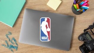Stickers NBA équipe Basket