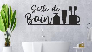 Stickers Citations Salle de Bain