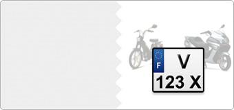 Plaques Immatriculation CYCLO