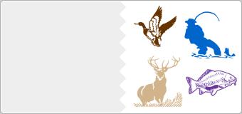 Stickers Chasse et Peche