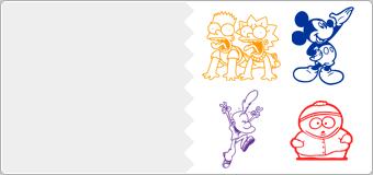 Stickers Dessin Anime