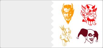 Stickers Diables et demons