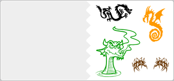 Stickers Dragons