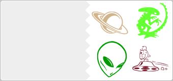 Stickers Extra-terrestre