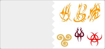 Stickers Tribal
